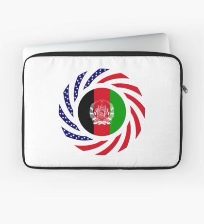 Afghani American Multinational Patriot Flag Series Laptop Sleeve