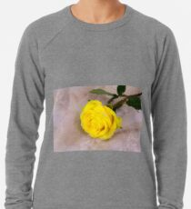 Yellow Antique Rose Lightweight Sweatshirt