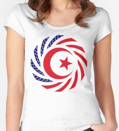 Muslim American Multinational Patriot Flag Series 1.0 Women's Fitted Scoop T-Shirt