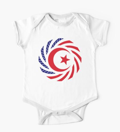 Muslim American Multinational Patriot Flag Series 1.0 Kids Clothes