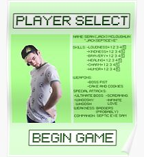Jacksepticeye Player Select Screen Poster