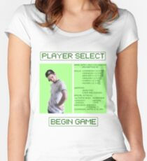 Jacksepticeye Player Select Screen Women's Fitted Scoop T-Shirt