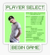 Jacksepticeye Player Select Screen Sticker