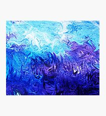 Abstract Ocean  Fantasy V Photographic Print