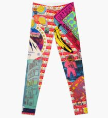 Andy Warhol collage Leggings