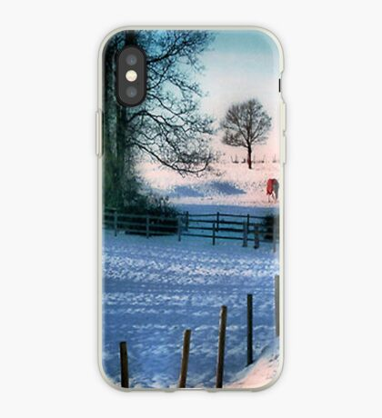 The Snow Fields iPhone Case