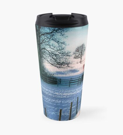 The Snow Fields Travel Mug