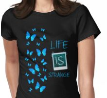 Butterfly Effect Womens Fitted T-Shirt
