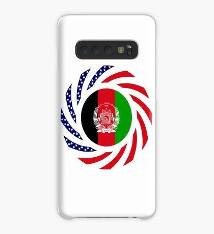 Afghani American Multinational Patriot Flag Series Case/Skin for Samsung Galaxy