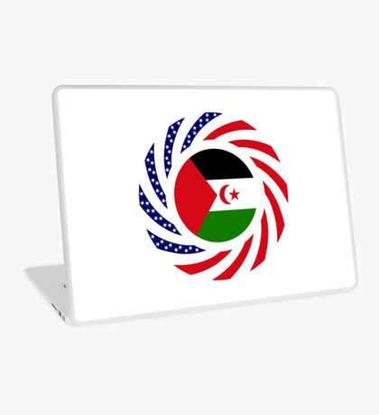 Sahrawi Arab Democratic Republic American Multinational Patriot Flag Series Laptop Skin