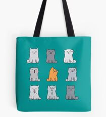 Nine cute kittens Tote Bag