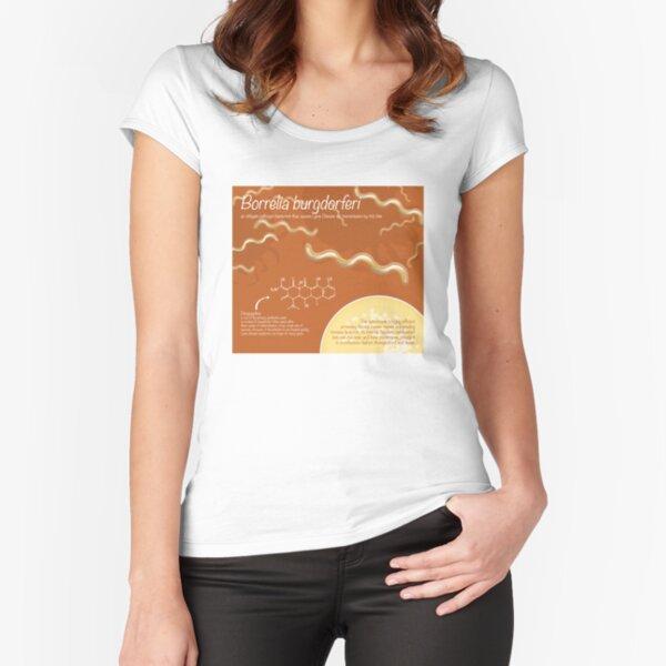 Borrelia burgdorferi Fitted Scoop T-Shirt