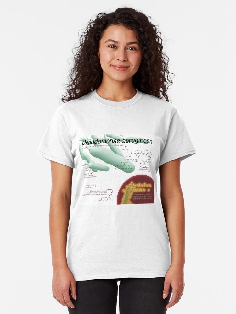 Alternate view of Pseudomonas aeruginosa Classic T-Shirt