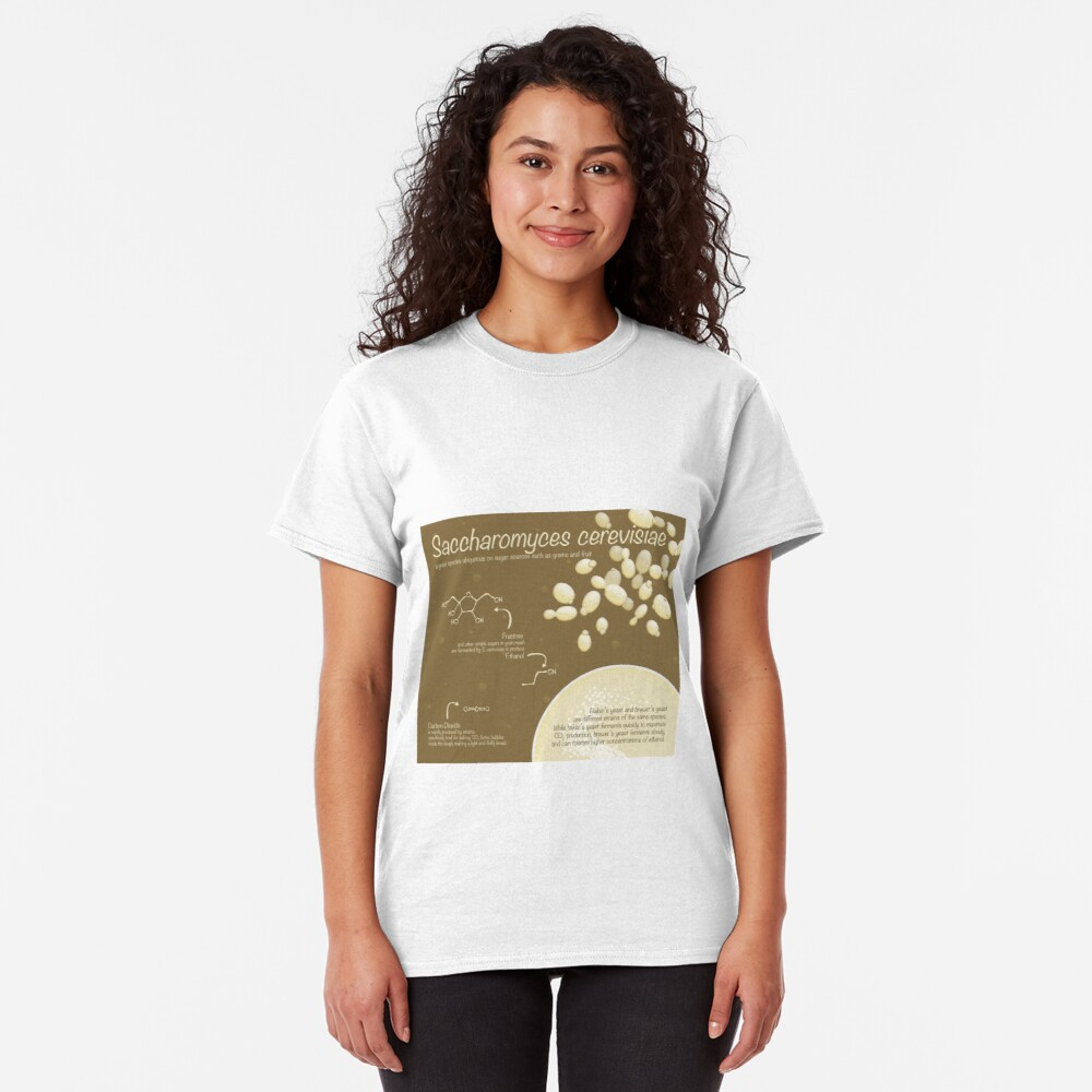 Saccharomyces cerevisiae Classic T-Shirt