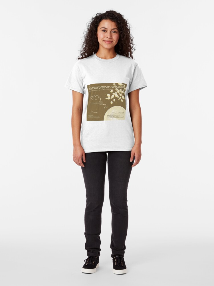 Alternate view of Saccharomyces cerevisiae Classic T-Shirt