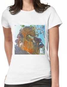 Sculpture by Nature Womens Fitted T-Shirt