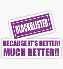 Blockblister Sticker