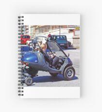 Danish transport Spiral Notebook