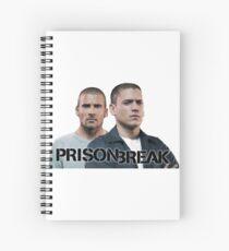 Prison Break: Michael and Lincoln Spiral Notebook