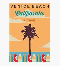 Venice Beach - California.  Photographic Print
