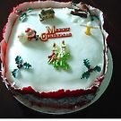 A Traditional English Christmas Cake by MidnightMelody