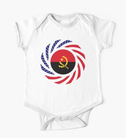 Angolan American Multinational Patriot Flag Kids Clothes