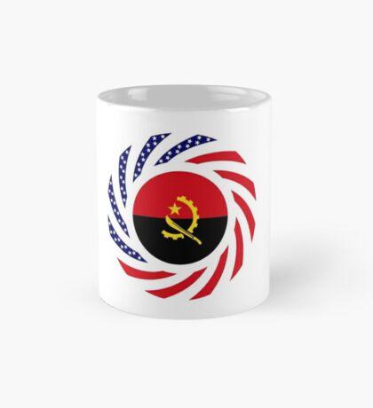 Angolan American Multinational Patriot Flag Mug