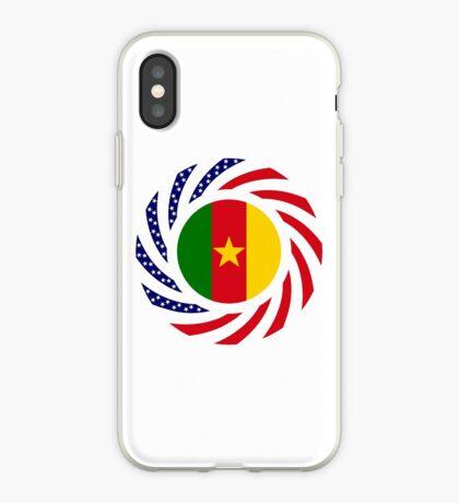 Cameroon American Multinational Patriot Flag Series 1.0 iPhone Case