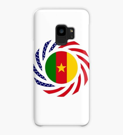 Cameroon American Multinational Patriot Flag Series 1.0 Case/Skin for Samsung Galaxy