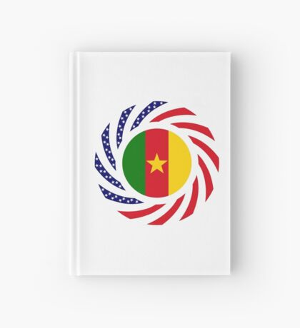 Cameroon American Multinational Patriot Flag Series 1.0 Hardcover Journal