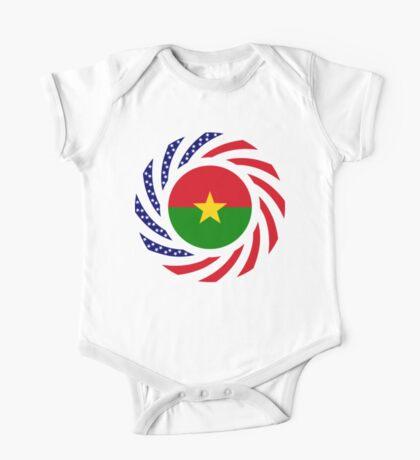 Burkina Faso American Multinational Patriot Flag 1.0 Kids Clothes