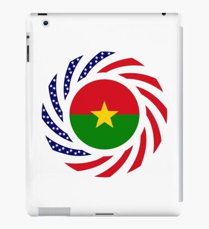 Burkina Faso American Multinational Patriot Flag 1.0 iPad Case/Skin