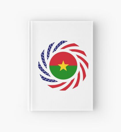 Burkina Faso American Multinational Patriot Flag 1.0 Hardcover Journal