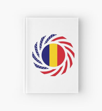 Chad American Multinational Patriot Flag Series Hardcover Journal