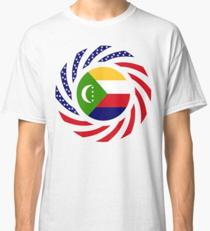 Comoros American Multinational Patriot Flag Series Classic T-Shirt
