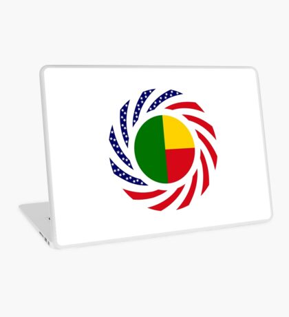 Benin American Multinational Patriot Flag Series Laptop Skin