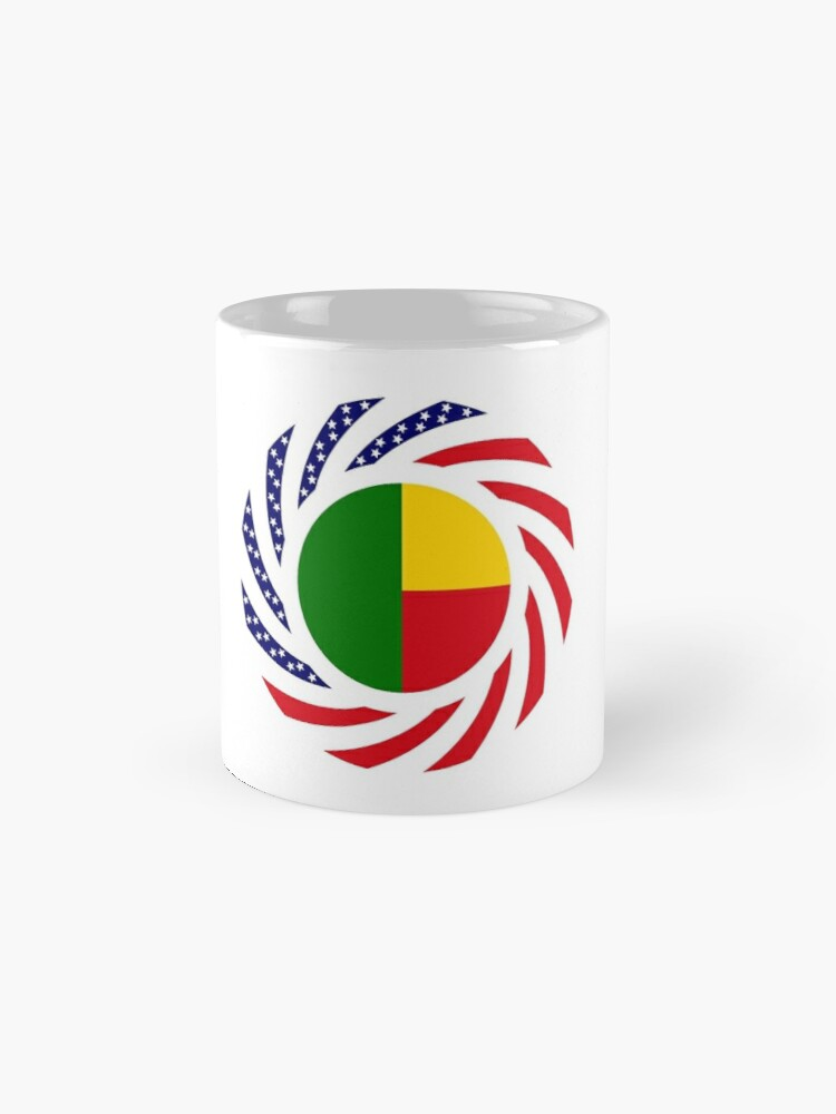 Alternate view of Benin American Multinational Patriot Flag Series Mug