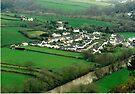 Leper Strips of Taddiport, Devon, UK by Margaret  Hyde