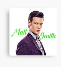 Matt Smith Canvas Print