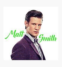 Matt Smith Photographic Print