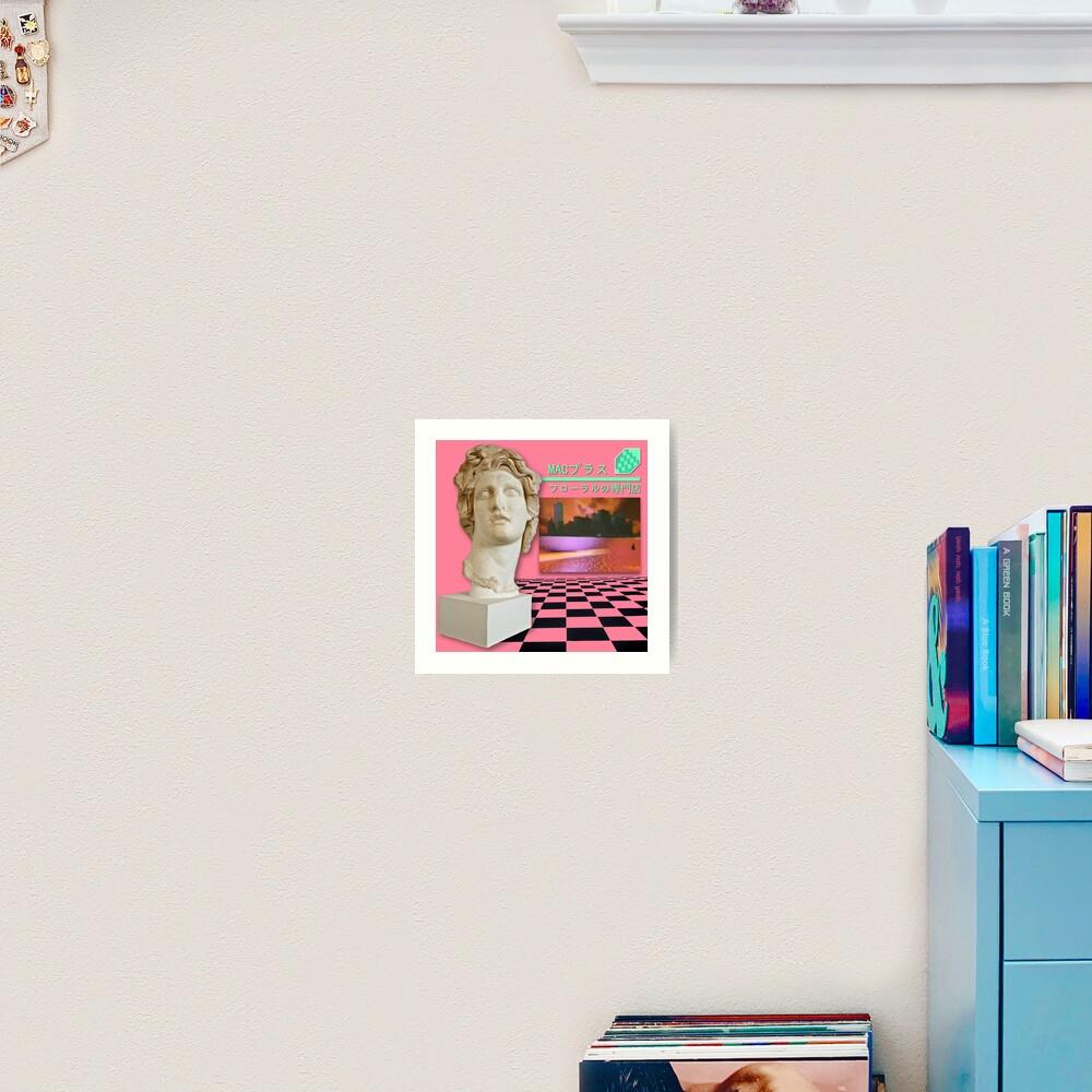 Floral Shoppe Macintosh Plus Art Print By Pennysoda Redbubble