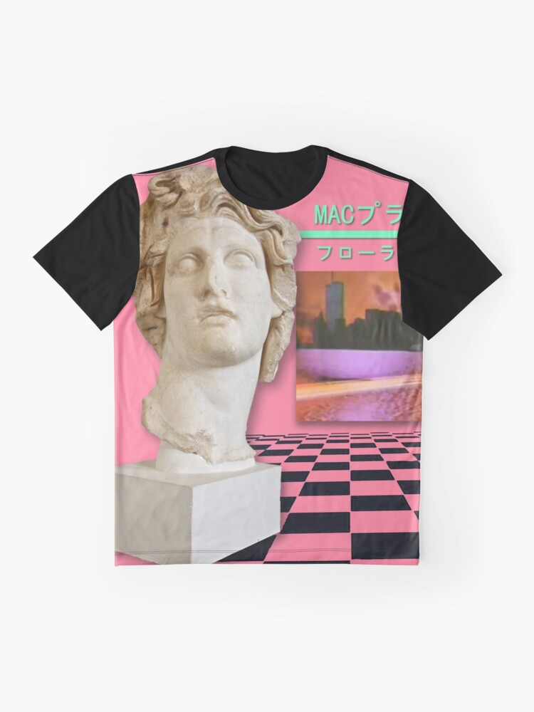 Vista alternativa de Camiseta gráfica Floral Shoppe Macintosh Plus