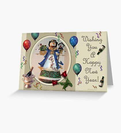 For Auld Lang Syne ~ Happy New Year! Greeting Card