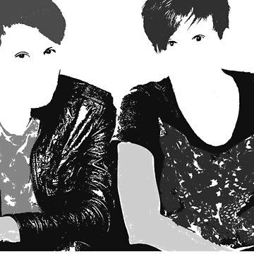 Dan & Phil   Grey & Grey by Felizia00