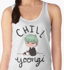 Chill Min Yoongi Women's Tank Top
