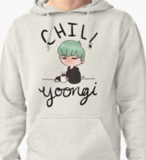 Chill Min Yoongi Pullover Hoodie