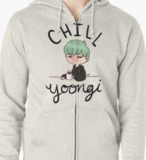 Chill Min Yoongi Zipped Hoodie