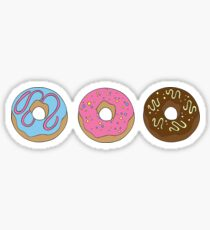 Donut Worry Sticker