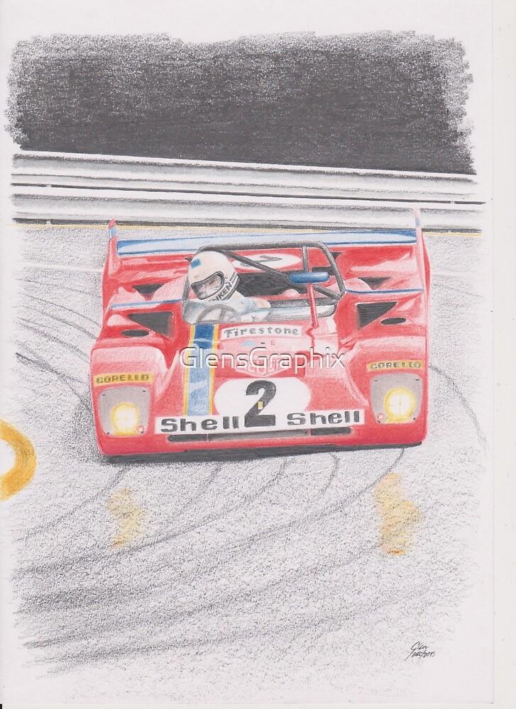 Ferrari 312PB by Glens Graphix by GlensGraphix