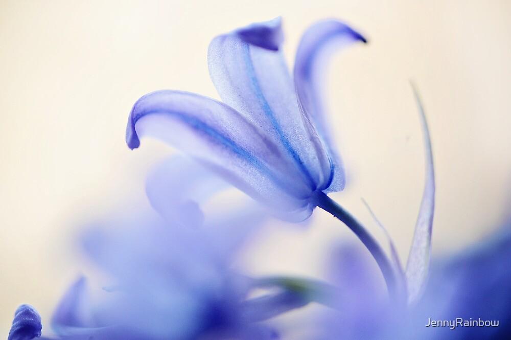 Blue Light. The Wild Hyacinth by JennyRainbow